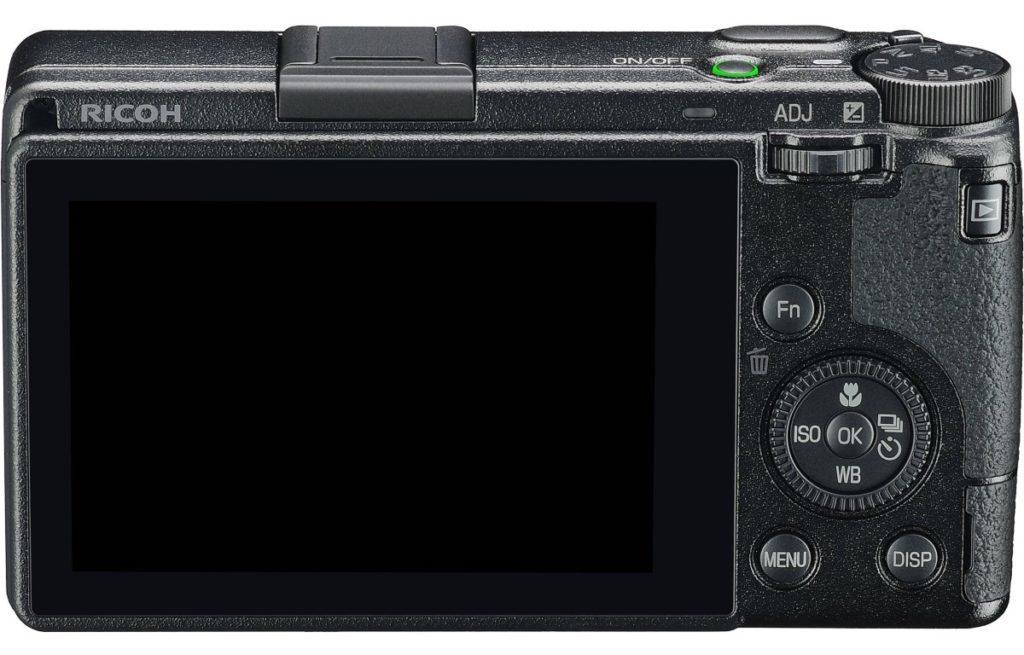 La GR II tiene más resolución de pantalla, pero el ajuste fue razonable