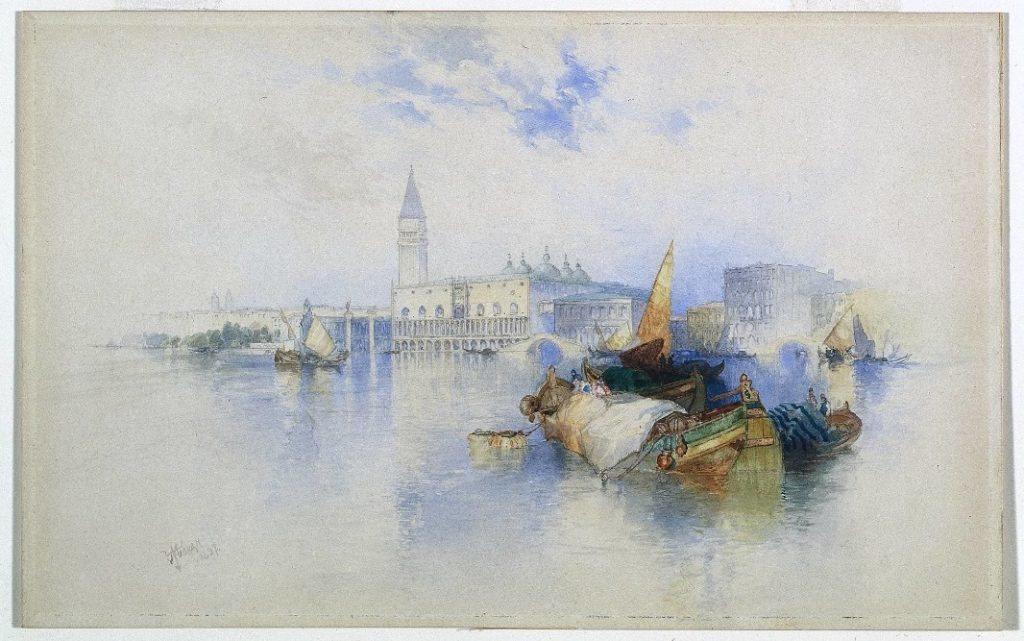 «Cuenca de San Marcos, Venecia» - Thomas Moran, 1897