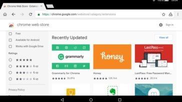 Cómo instalar extensiones de Chrome en un navegador Android