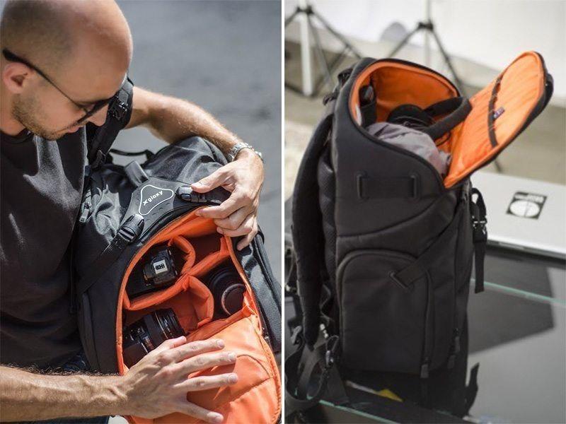 Una mochila, todos tus accesorios