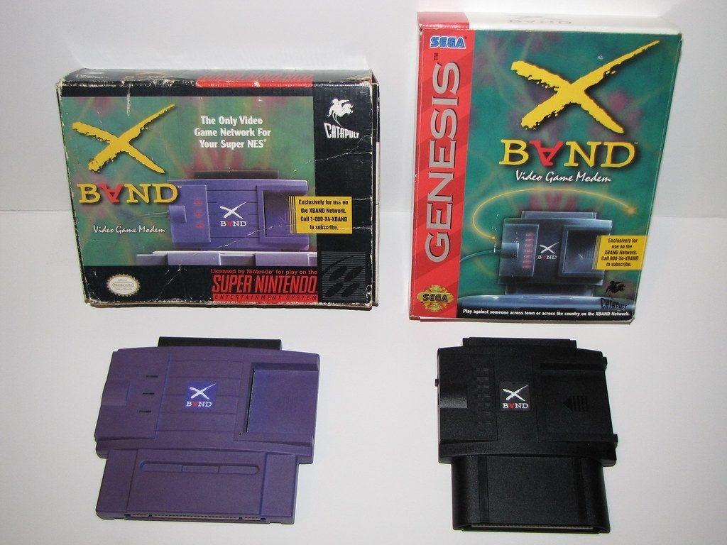 XBAND fue el único módem disponible para la Super Nintendo en los Estados Unidos