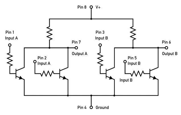 cómo funciona un circuito integrado