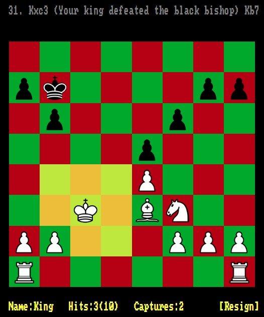 Juego de rol y ajedrez