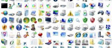 cambiar los iconos en Windows 10