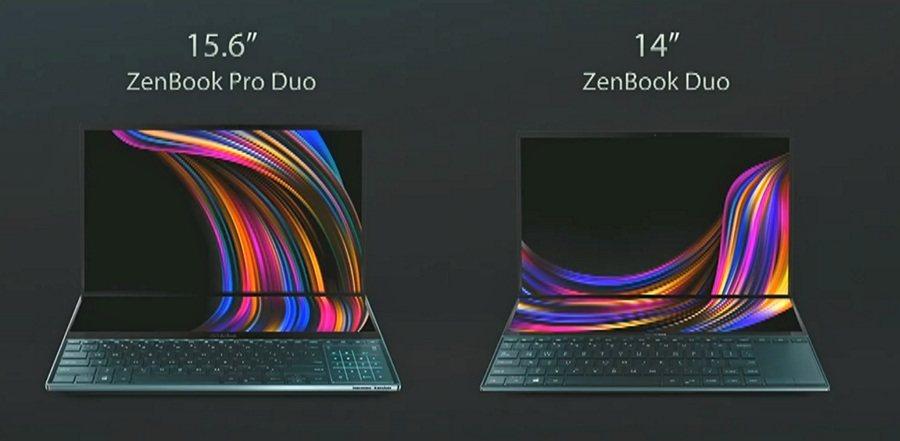 Comparativa: ZenBook Pro Duo vs ZenBook Duo