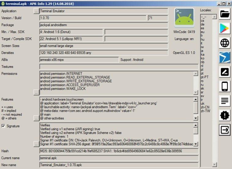 Cómo abrir archivos APK en Windows