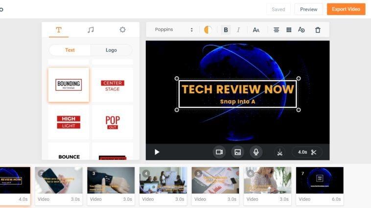 editar vídeos online