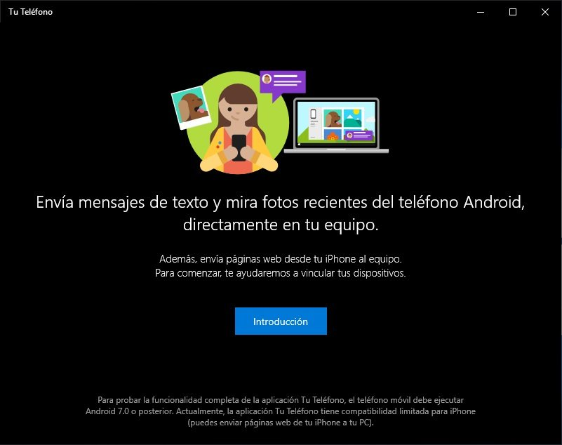 recibir notificaciones de Android en Windows