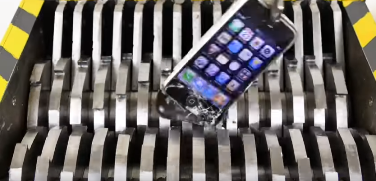 Triturar archivos de tu teléfono