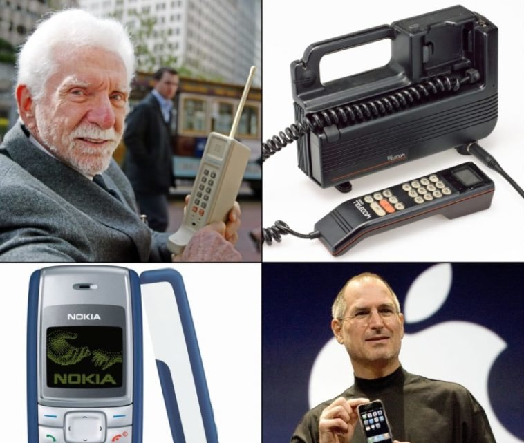 La evolución de los teléfonos móviles