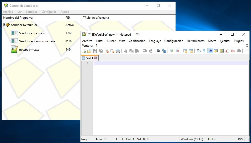 Sandboxie: El clásico sandbox para Windows, ahora es