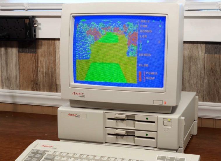 ordenador XT