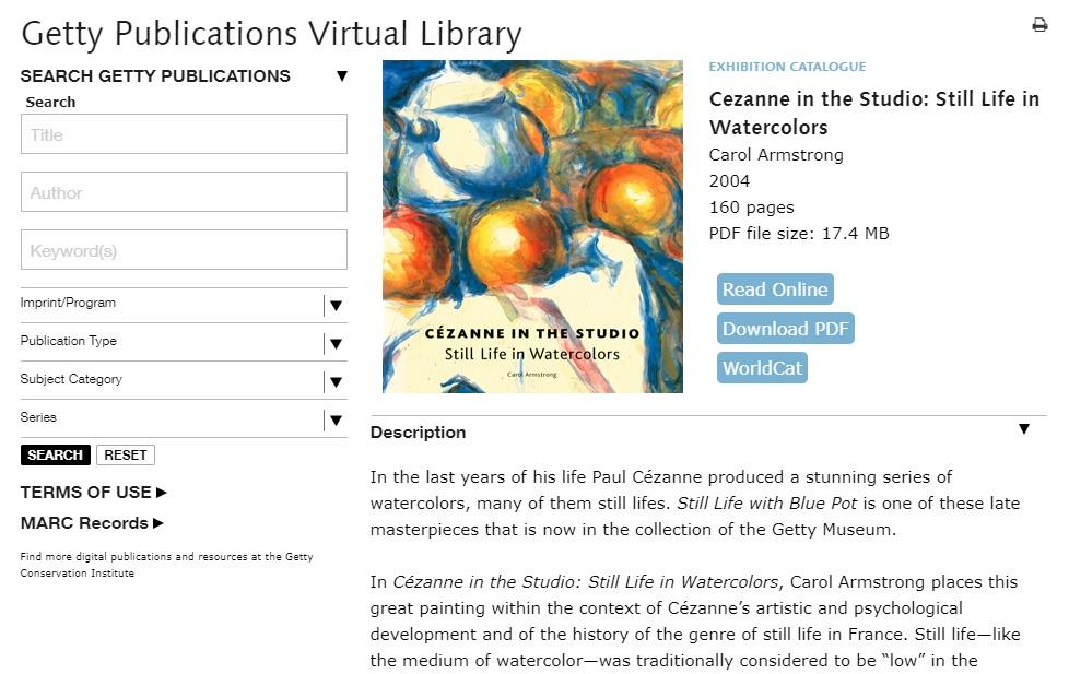 Libros de arte gratis
