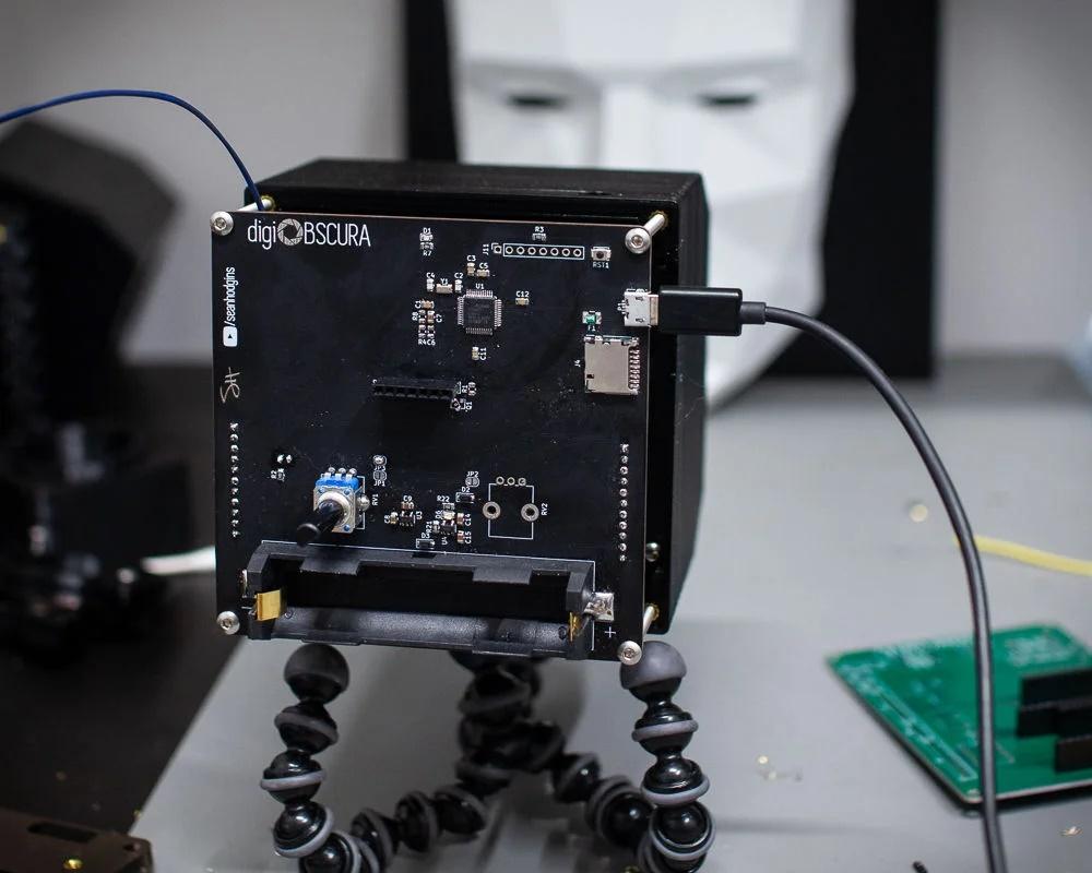 Cómo construir tu propio sensor fotográfico
