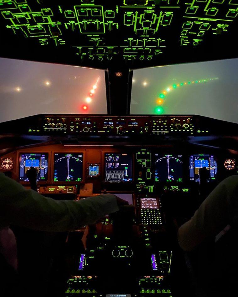 Cabinas de aviones