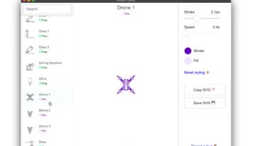 Base de datos de iconos animados