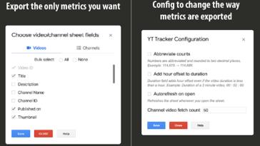 Elige entre el canal o vídeos