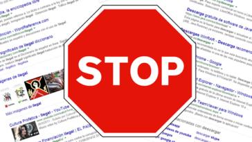 Bloquear páginas Webs