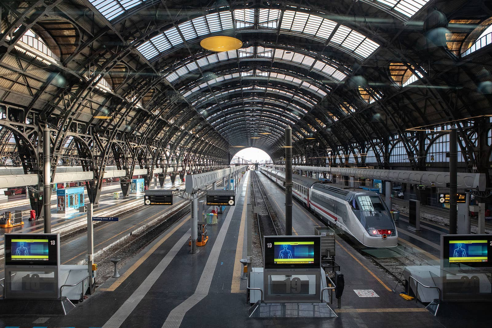 Image result for milan central station