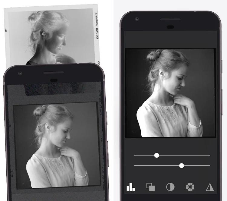 Cómo visualizar negativos de fotos