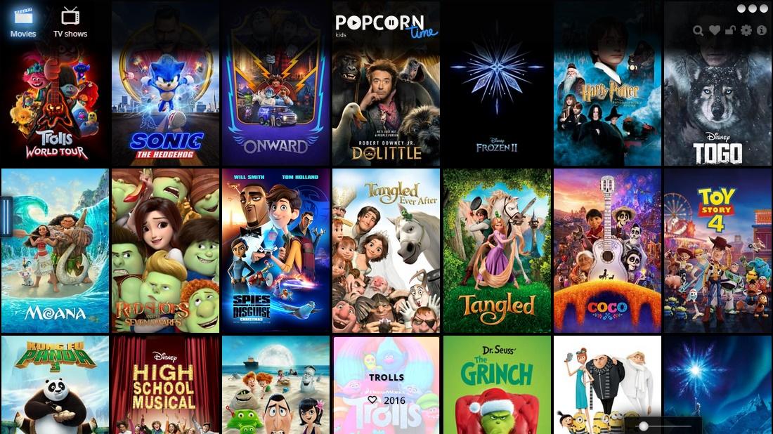 Popcorn Time Kids