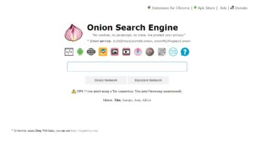 Deep Web sin Tor
