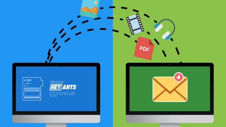 Cómo enviar y recibir archivos grandes