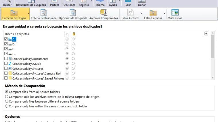 Cómo borrar archivos duplicados