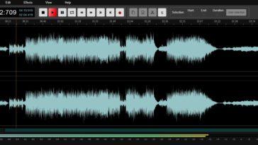 Cómo editar sonido en línea