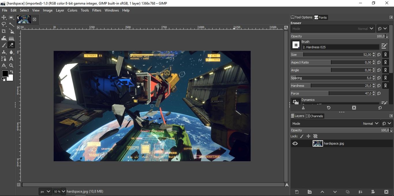 Cómo convertir a GIMP en un clon de Photoshop