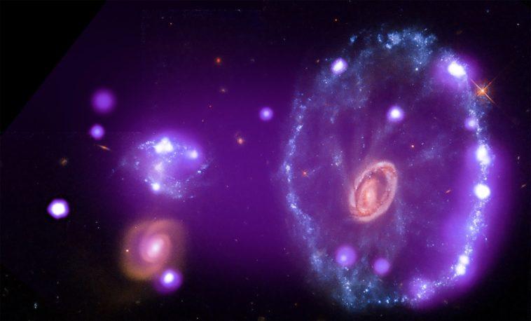 Galaxia Rueda de Carro