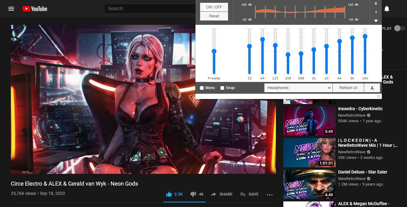 Cómo ecualizar el audio de YouTube