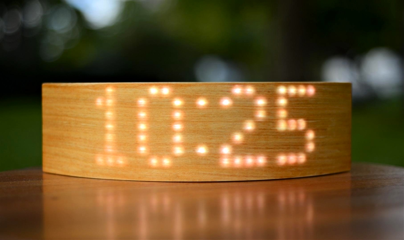 Reloj LED