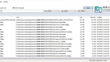 Buscar archivos