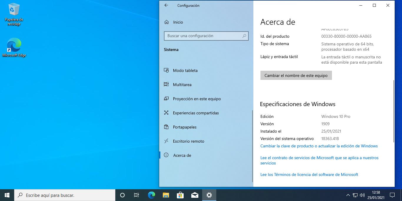 Cómo actualizar Windows 10 a la última versión