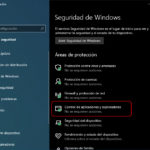 Cómo desactivar SmartScreen