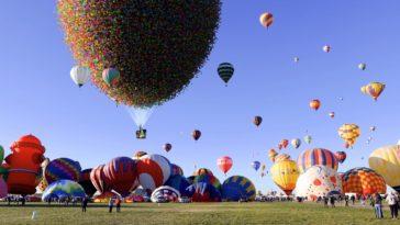Cuántos globos necesitas para que la casa de Up flote