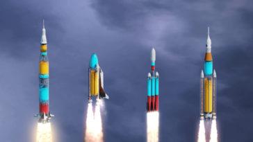 Cohetes transparentes