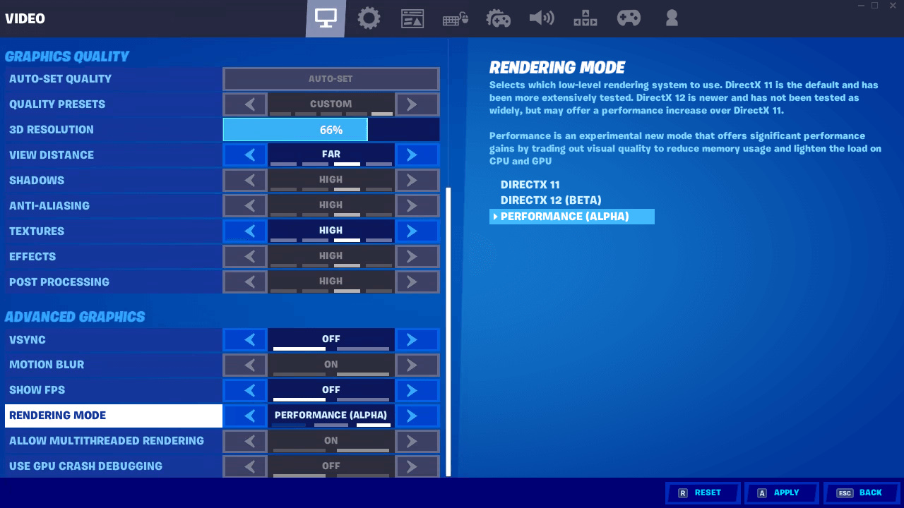optimizar pc para fortnite