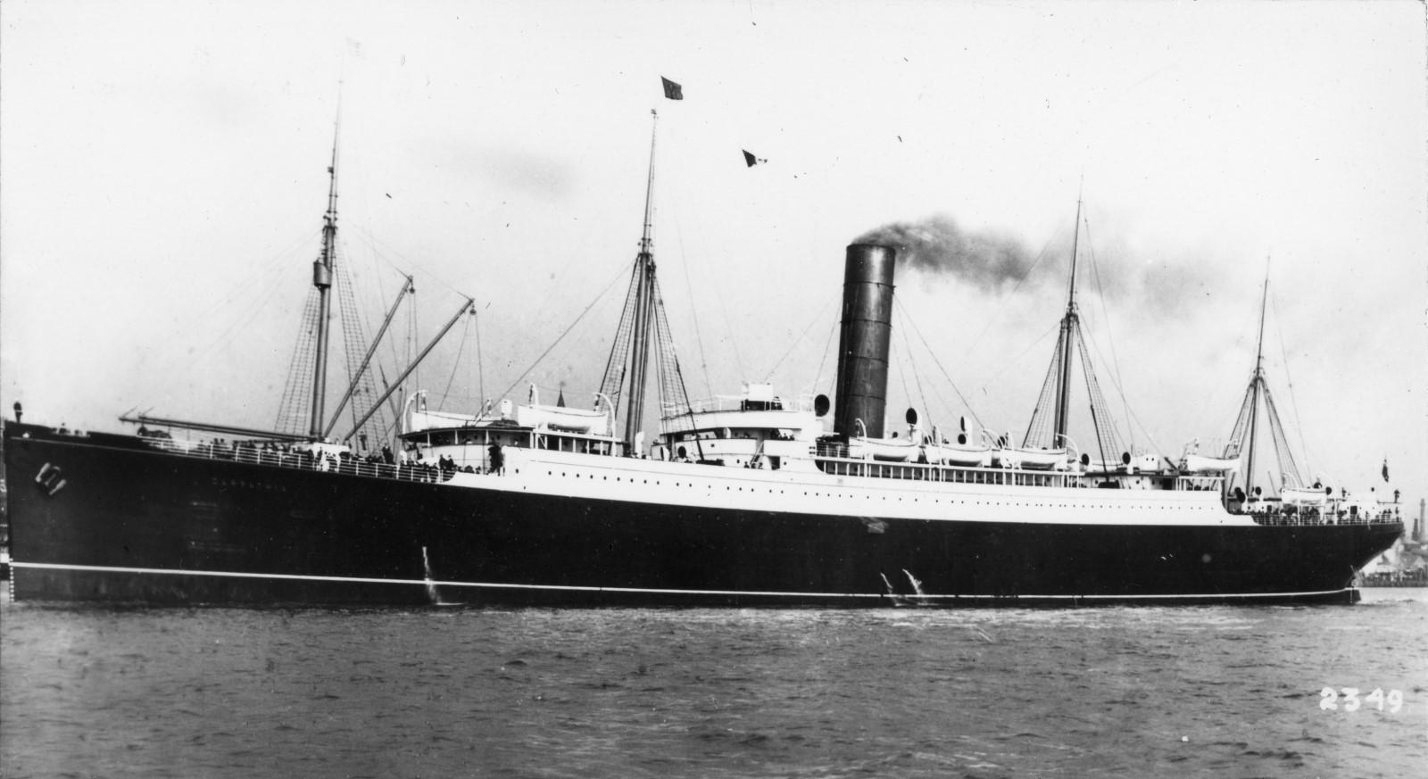 Cuanta gente murio Titanic
