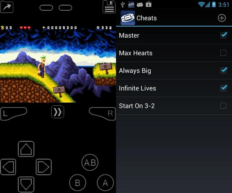 mejores emuladores de GBA para Android