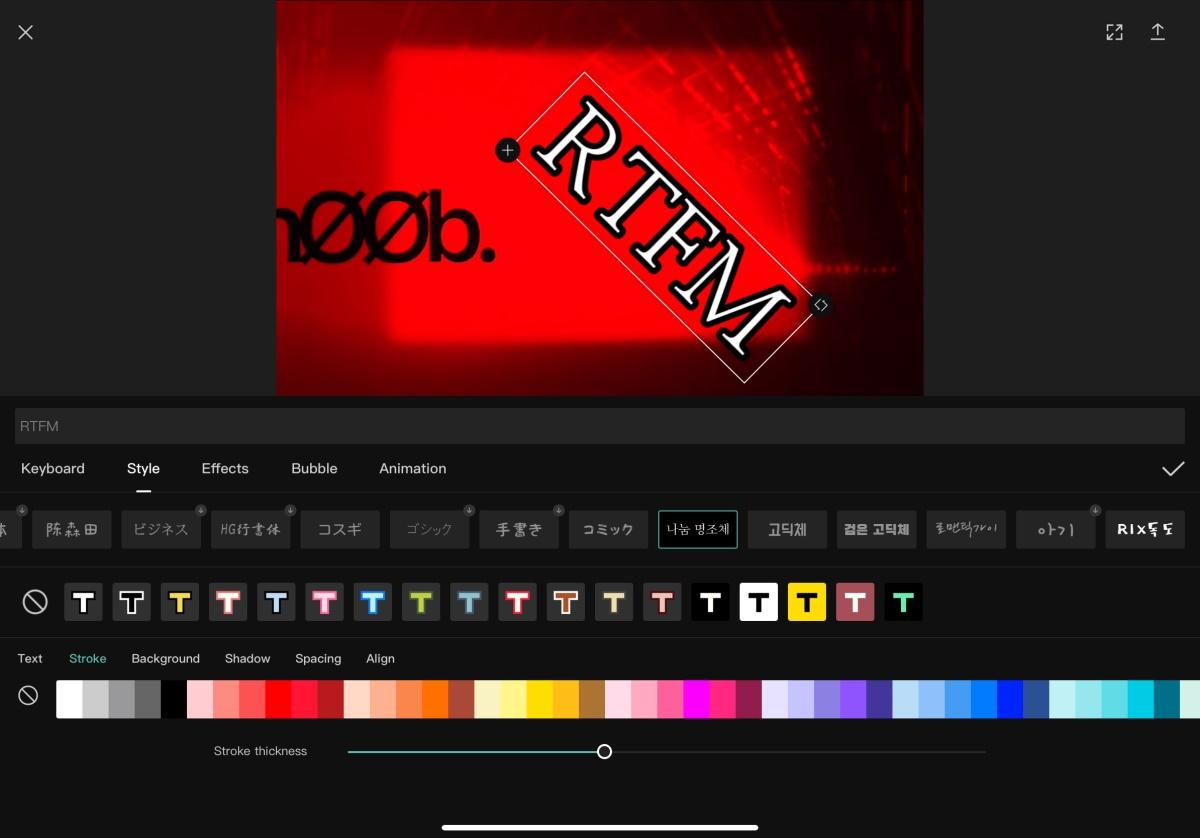 Capcut Editar videos para TikTok