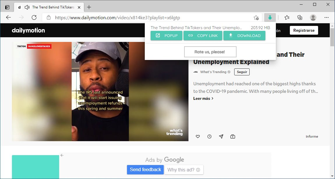 Extensiones de Chrome para descargar vídeos