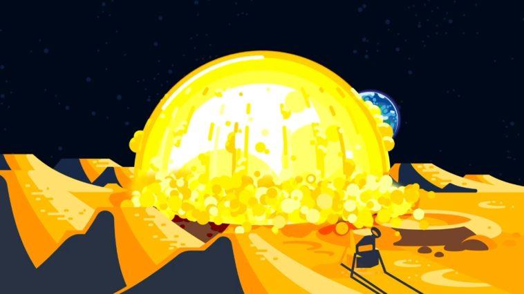 Bomba nuclear en la Luna