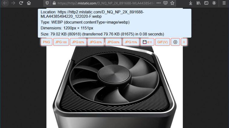 descargar una imagen WebP en JPG