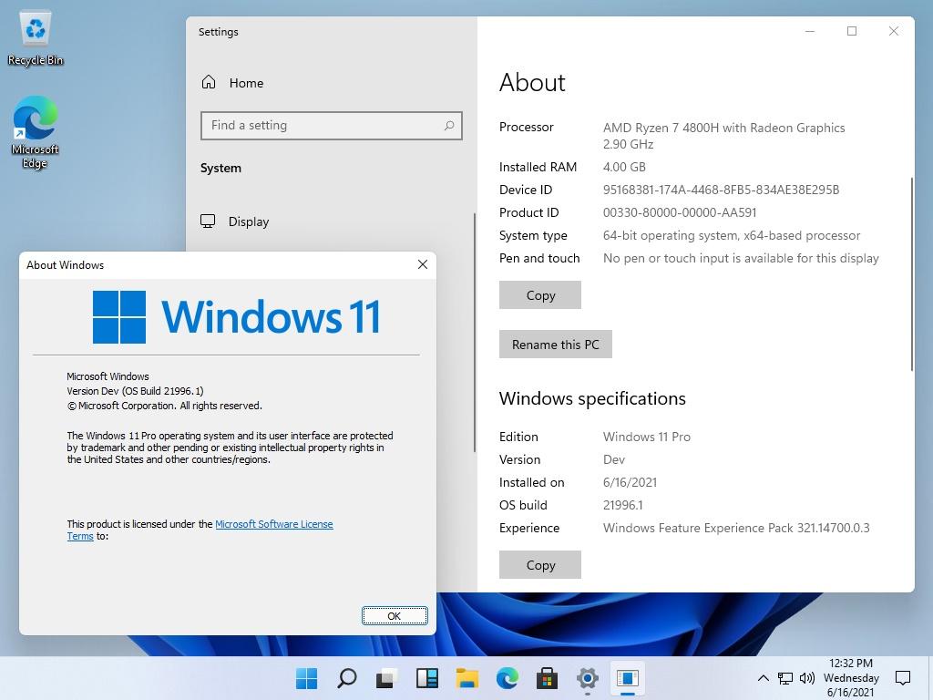Fondos de pantalla de Windows 11
