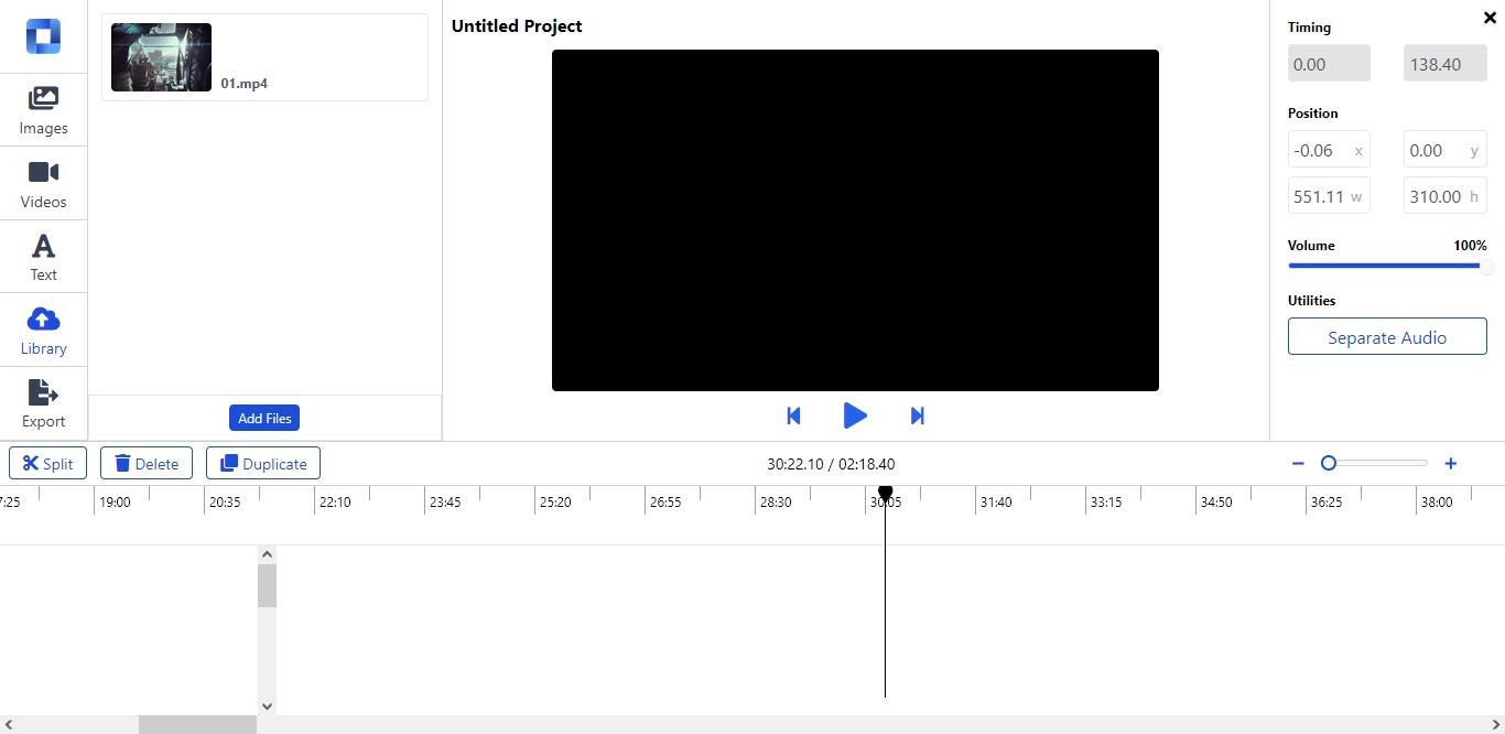 editor de vídeo online gratuito