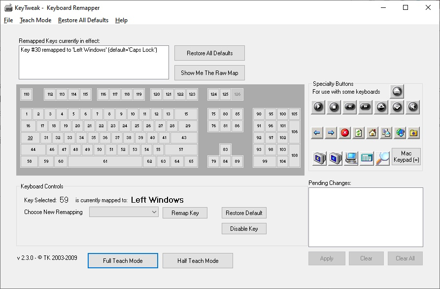 teclado portatil no funciona