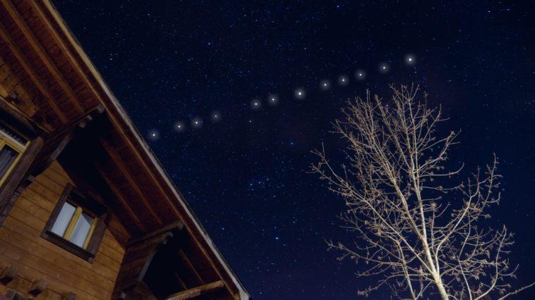 ver los satélites de Starlink