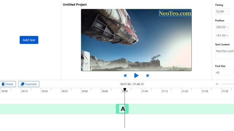 Editor de vídeo online gratuito sin marcas de agua